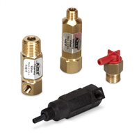 Brass and RTP Thermo Valves